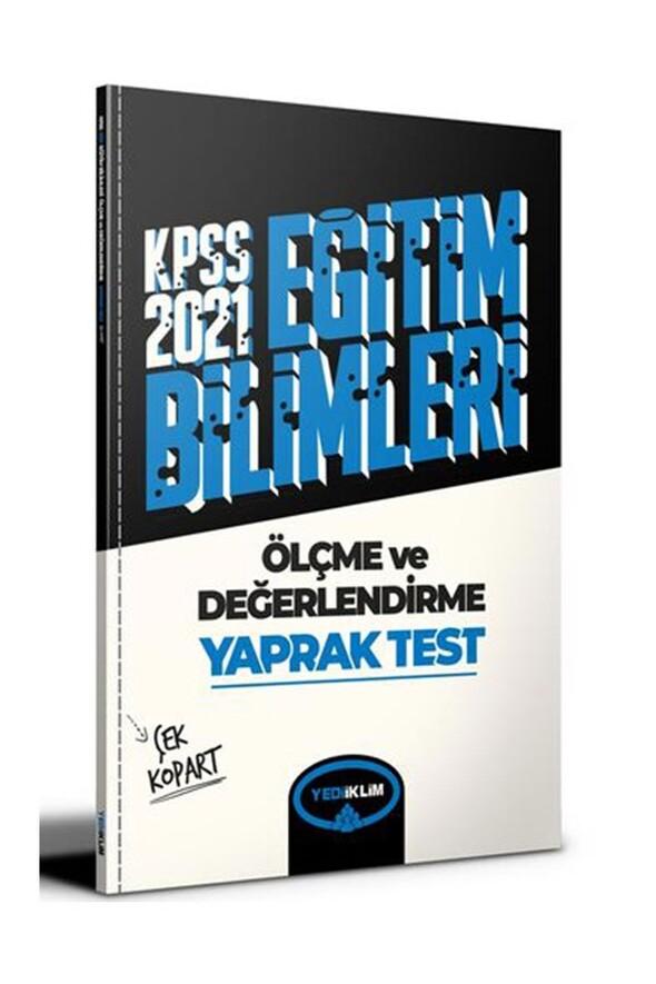 Yediiklim Yayınları 2021 Kpss Eğitim Bilimleri Ölçme ve Değerlendirme Çek Kopart Yaprak Test
