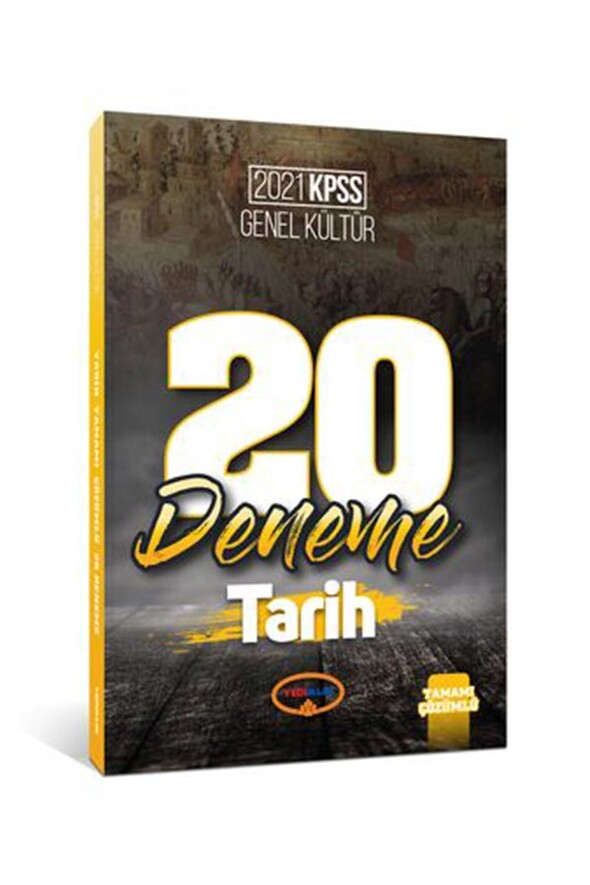 Yediiklim Yayınları 2021 Kpss Genel Kültür Tarih Tamamı Çözümlü 20 Deneme