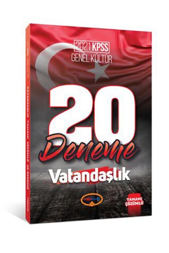 Yediiklim Yayınları 2021 Kpss Genel Kültür Vatandaşlık Tamamı Çözümlü 20 Deneme