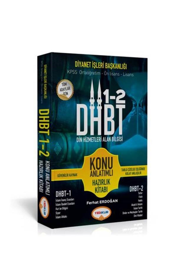 Yediiklim Yayınları DHBT Tüm Adaylar için Din Hizmetleri Alan Bilgisi Konu Anlatımlı