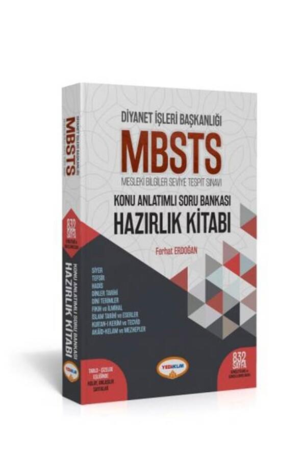 Diyanet İşleri Başkanlığı MBSTS Konu Anlatımlı Soru Bankası Hazırlık Kitabı Yediiklim Yayınları