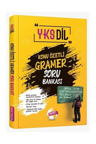 Smart English - YKS Dil Konu Özetli Gramer Soru Bankası Smart English